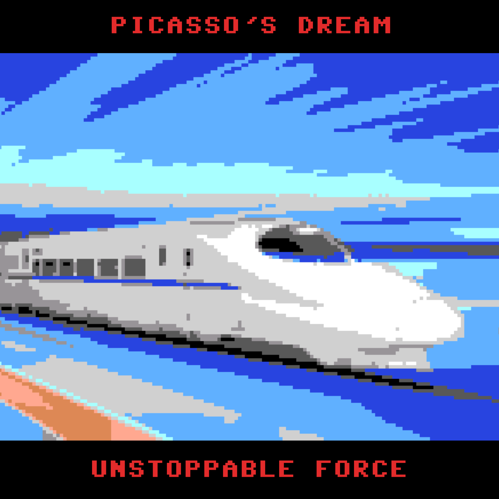 Picasso's Dream - Unstoppable Force - Progressive Rock Single